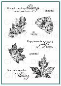 """Fall Foliage"" Clear Stamp Set 