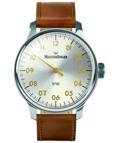 Orologio MEISTERSINGER number 3 Silver and gold  #meistersinger #sorelleronco #watch #watches