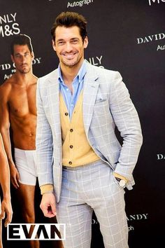 Meet & Greet with David Gandy during the launch of his underwear range for M&S in Dublin ~ David James Gandy