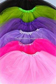 affordable tutus that you can make into your own! My girls love tutus!
