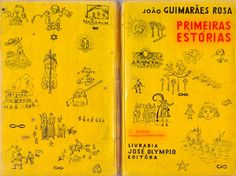 Book Cover- Primeiras Estorias-  Joao Guimaraes Rosa- Poti Cover- 5th Edition- Brazil- 1969.