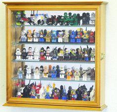 Lego Men Action Figures Disney Minatures Display Case Cabinet Wall Rack | eBay