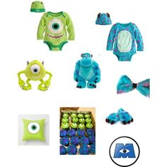 monsters inc baby suit