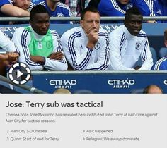 Jose-MOURINHO on John-TERRY