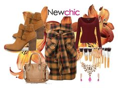 """""""Newchic 21"""" by dinka1-749 ❤ liked on Polyvore featuring Faith Connexion, Miss Selfridge and Steve Madden"""