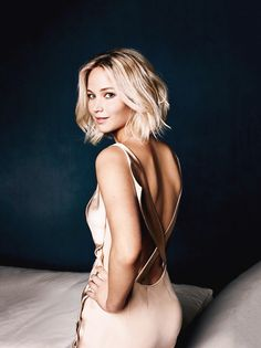Jennifer Lawrence photographed for EW by Robert Trachtenberg on Sept 8, 2015, in Los Angeles.