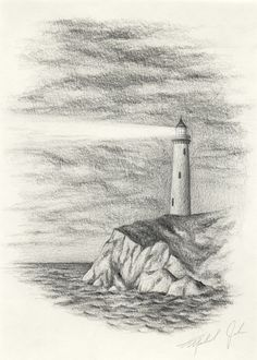 Image result for drawing pencil ocean