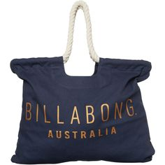 Billabong Formation Beach Bag Blue (100 BRL) ❤ liked on Polyvore featuring bags, handbags, accessories, blue, women, billabong bags, billabong, blue beach bag, beach tote bags and blue handbags