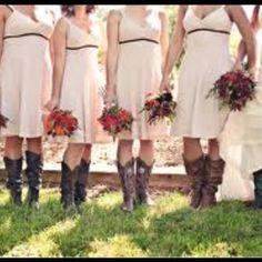 Idea for bridesmaids!