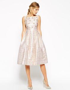 ASOS+SALON+Crystal+Bodice+Jacquard+Prom+Dress