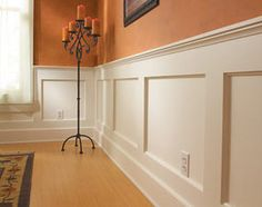 How to Build a Wainscoted Wall
