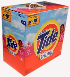 Ultra Tide Downy April Fresh New Improved Laundry Formula 140 Loads 16.18 LB ❀❤☀