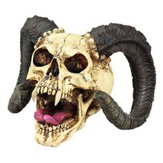 Design Toscano The Skull of the Horned Beast Sculpture