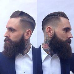 fade beard - Pesquisa Google