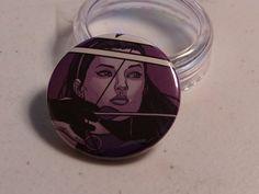 "Comic Book 1.5"" Button// Hawkeye (Kate Bishop), $1.00"