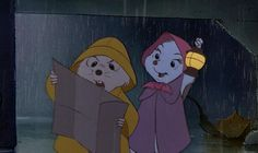 """Through storm and rain and dark of night, never fail to do what's right."" - The Rescuers"