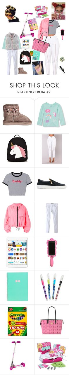 """..."" by kristinabone ❤ liked on Polyvore featuring Forever 21, Giuliano Galiano, MSGM, Chicnova Fashion, Moschino, Vera Bradley, MCM and My Little Pony"