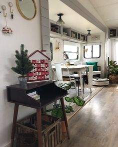 207 Best Tiny House Christmas images | Christmas, Tiny house ... Decked Out Mobile Homes on laid out mobile homes, home improvement mobile homes, hgtv mobile homes, neat mobile homes, for rent mobile homes,