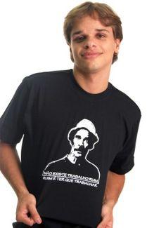 Camisetas GAME E TV | Camiseta TRABALHO RUIM