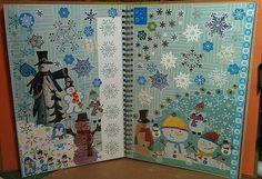 Snowmen Smash Book Pages