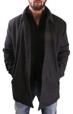 Kenneth Cole Reaction Men's #Wool   Pea Coat