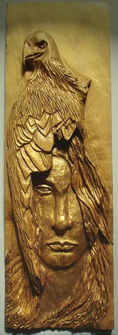 esculturas em madeira - Pesquisa Google