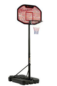 Basketballkorb HAMBURG, Höhenverstellbar von 225 - 305 cm, fahrbar