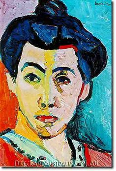 Matisse | Green Stripe - Direct Art Australia,  Price: $199.00,  Availability: Delivery 10 - 14 days,  Shipping: Free Shipping,  Minimum Size: 50 x 60 cm,  Maximum Size : 100 x 150 cm,   www.directartaustralia.com.au/