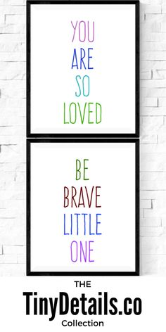 Nusery art, nursery décor, nursery quotes, modern nursery, nursery artwork, kids, baby, and nurseries all at www.tinydetails.co
