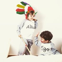 Little Indians in action with their Alter Ego pj's! Alter Ego, Winter Collection, Pjs, Action, Decor, Group Action, Decoration, Decorating, Deco