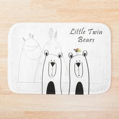 Give your bathroom a chic update with a soft, snuggly bath mat. Stylish and functional bathroom mats available in various sizes. Bath Mat Design, Bath Accessories, Floor Pillows, Wall Tapestry, Duvet Covers, Twins, Bear, Bathroom, Chic
