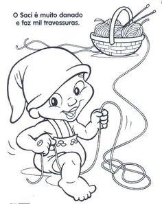 desenhos de folclore 10