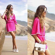 Get this look: http://lb.nu/look/7011936  More looks by Flávia Desgranges van der Linden: http://lb.nu/fashioncoolture  Items in this look:  Lez A Lez Dress   #bohemian #casual