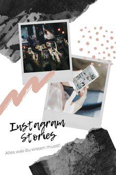 Alles was du über Instagram Stories wissen musst. #socialmedia #socialmediamarketing #socialmediatips #instagram #instagramstory #instagramtips #onlinemarketing #storytelling #tipps #socialmediatips Instagram Story, Polaroid Film, My Love, Blog, Tips And Tricks, Knowledge, Creative, Blogging