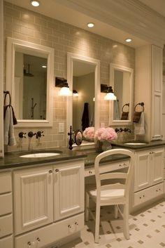 Dream bathroom!!! #bathrooms #bathtubs #showers www.bestnewbaths.com