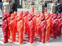 Karl Marx statues in Trier, Germany