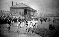 Track racing at Wakefield Trinity's Belle Vue ground some time between 1898-1903