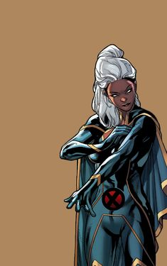 """Ororo in Uncanny X-Men "" Arte Dc Comics, Marvel Comics Art, Marvel X, Marvel Heroes, Marvel Women, Marvel Girls, Comics Girls, Marvel Characters, Female Characters"