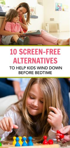 These electronics-free activities will help kids wind down before bedtime. Avoid bedtime battles with these low-energy activities, plus get more quality time together as a family!