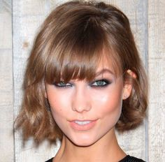 long straight hairstyles for wedding guests with bangs for women