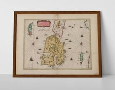 Isle of Islay, originally created by Willem Janszoon Blaeu, now available as a 'museum quality' poster print.  #antiqueardmore #askaig #homedecor #travelposter #interiordesign #gigha #hahnemuhle #islay #isleofislaymap #jurahistoricprint #oldmap #oldardmore #ardmore #islay #jura #vintageardmore #islay #westernislesmap