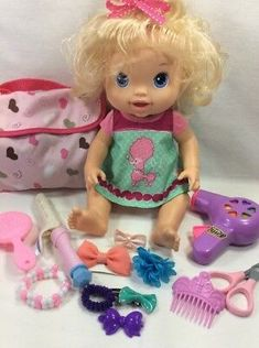 Lot of Baby Alive Doll Beautiful Now with Clothes Diapers Fun Accessories B My Life Doll Accessories, Birthday Accessories, Baby Alive Doll Clothes, Baby Alive Dolls, African American Baby Dolls, American Girl, Doll Carrier, Newborn Baby Dolls, Cute Baby Cats