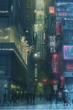 MTL Writer, daydreamer and resident cyberpunk. The brain that collates this visualgasm also assembles words into post-cyberpunk dystopia: my. Cyberpunk City, Ville Cyberpunk, Cyberpunk Kunst, Cyberpunk Aesthetic, Futuristic City, Cyberpunk Anime, Human Environment, Environment Concept, Environment Design
