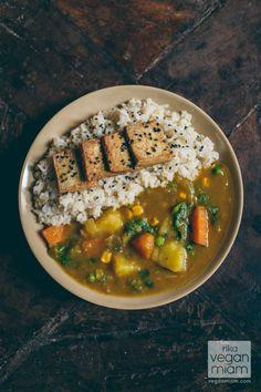 vegan japanese curry by @vegan miam