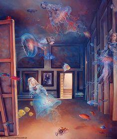 Martin La Spina: Meninas detras del espejo