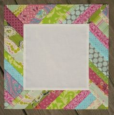 Some cute 'modern' quilt tutorials.  I love this one- maybe in nursery colors?