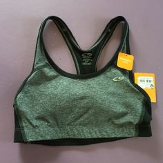 Champion Duo Dry Sports Bra- Sm. NWT Black & grey with removable cups- brand new! Champion Intimates & Sleepwear Bras