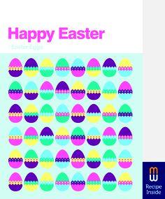 Easter Card   Easter Eggs   Recipe Inside