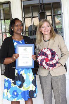 #Rwandan #WomenOfCourage Chantal Munanayire is 1st woman President of Rwanda Garage Association & empowers other women as a @ieew_ptb partner