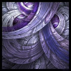30 Stunning Fractal Designs and Illustration